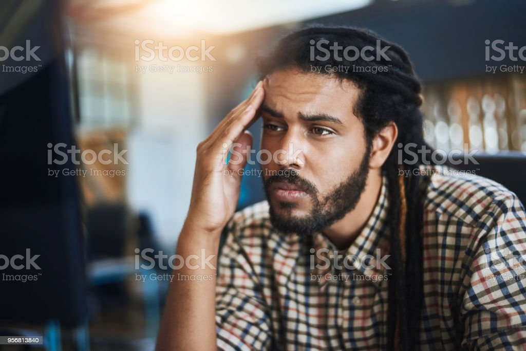 I'm never gonna finish in time stock photo