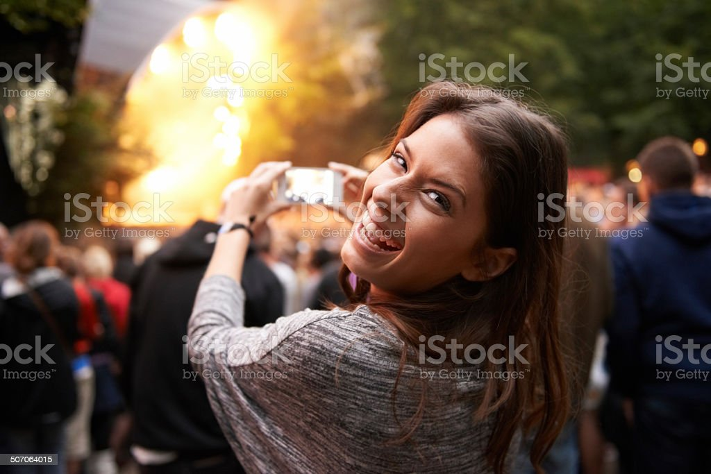 I'm not missing a thing! stock photo