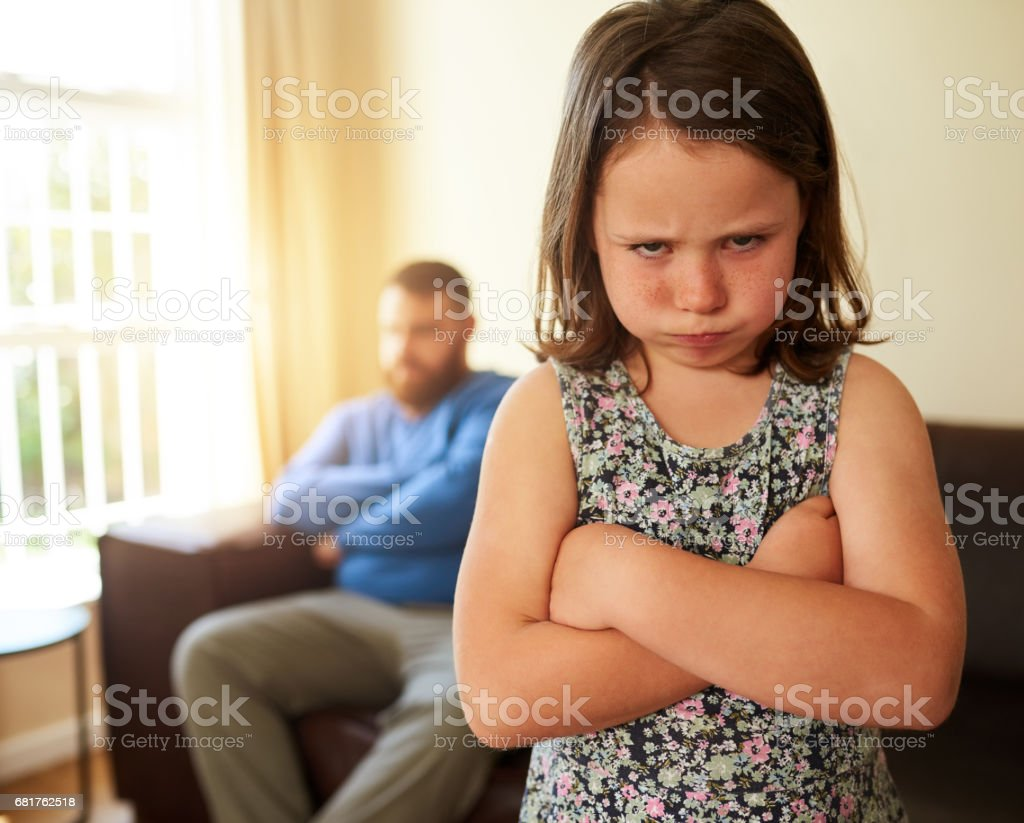 I'm not playing anymore! stock photo