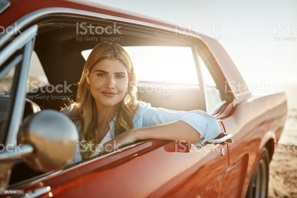 I'm not wasting this beautiful day indoors stock photo