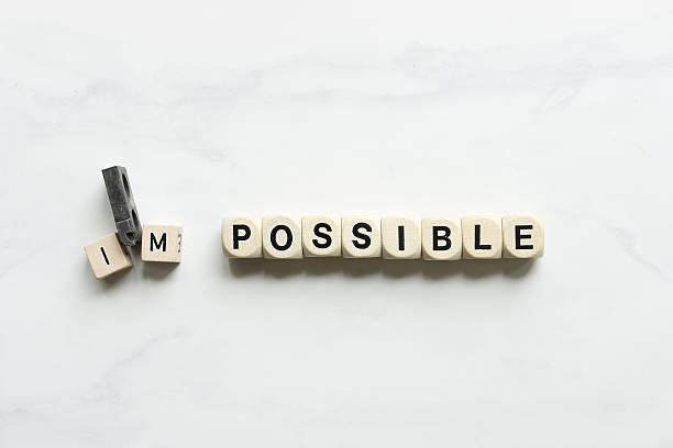 i'm possible! - possible stock photos and pictures