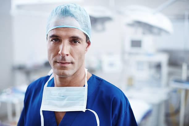 Ich bin bereit für Chirurgie – Foto