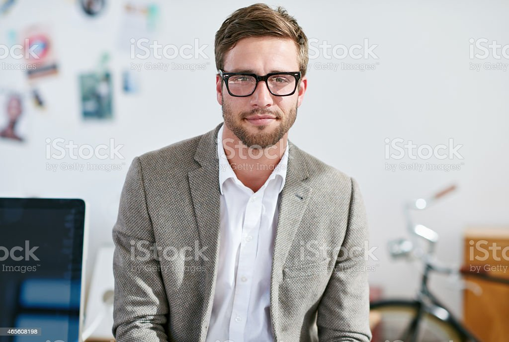 I'm ready if you are... stock photo