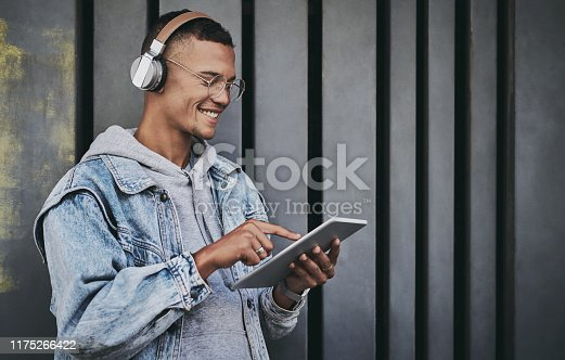 1165318420istockphoto I'm sharing this cool song with my friends 1175266422