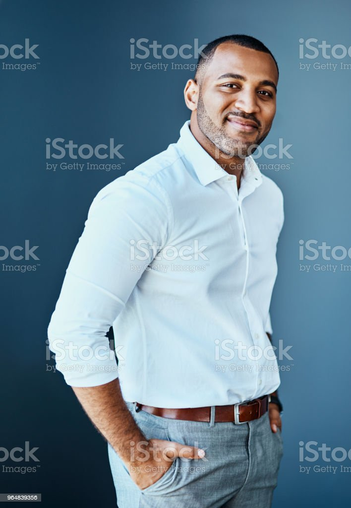 I'm simply confident in all that I do royalty-free stock photo