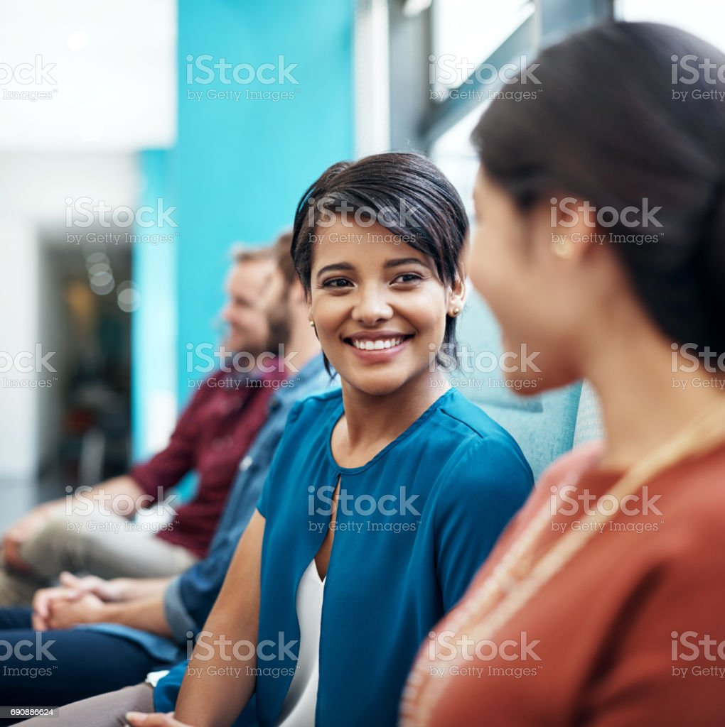 I'm so glad we see eye to eye stock photo