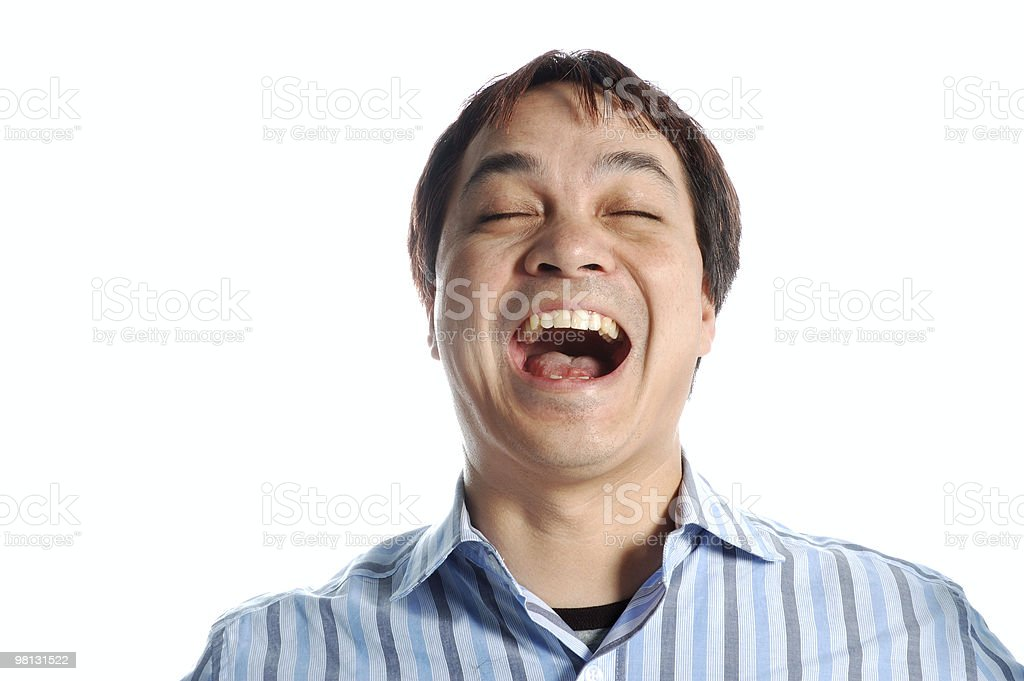 I'm so Happy I Could Scream royalty-free stock photo