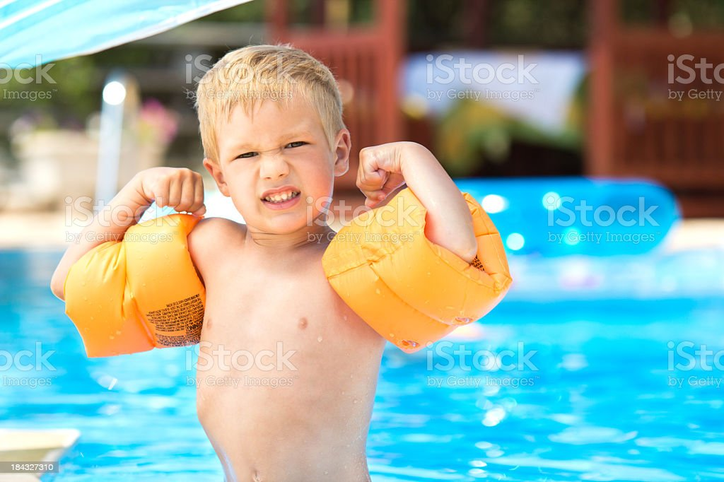 I'm So Strong royalty-free stock photo