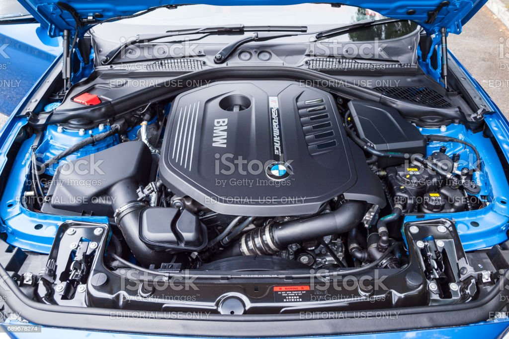 Bmw M140i 2017 Engine Stock Photo More Pictures Of Bmw Istock