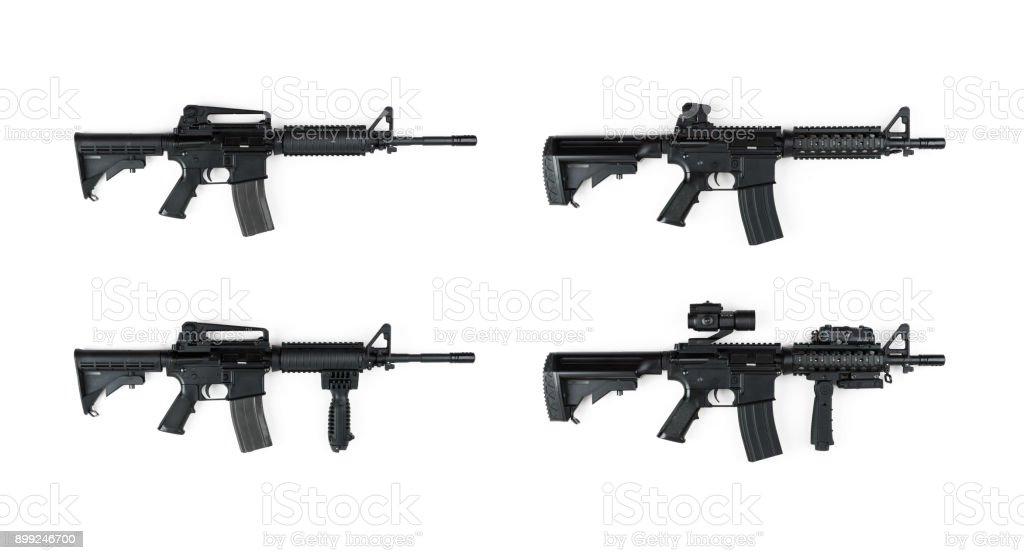 M4a1 Rifle Series stock photo