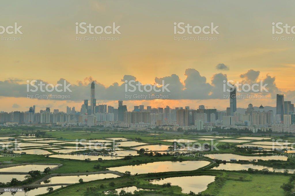 Ma Tso Lung at North East New Territories, Hong Kong stock photo