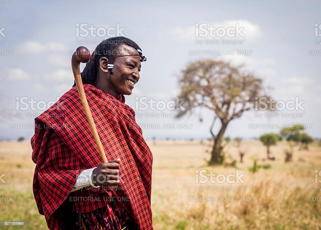 Maasai stock photo