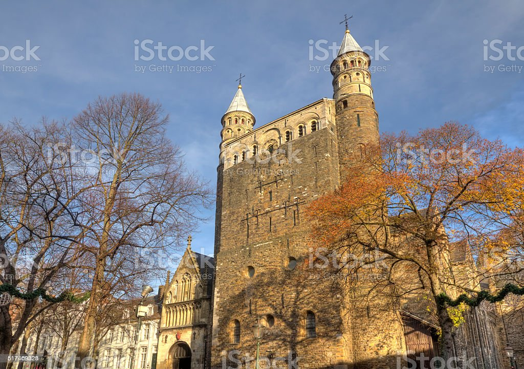 Maastricht, Basilica of Our Lady stock photo