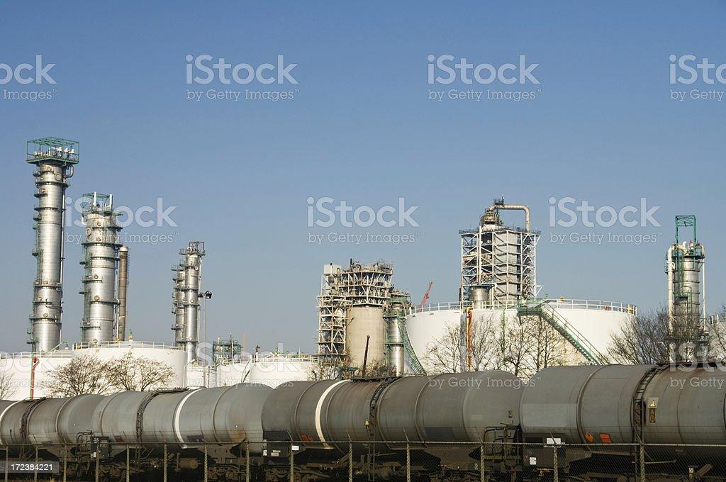 Maasvlakte Industries royalty-free stock photo