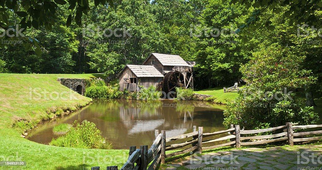 Mabry Mill royalty-free stock photo