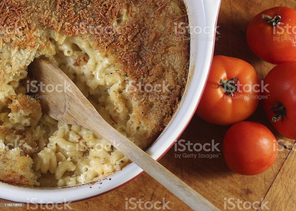 mac & cheese royalty-free stock photo
