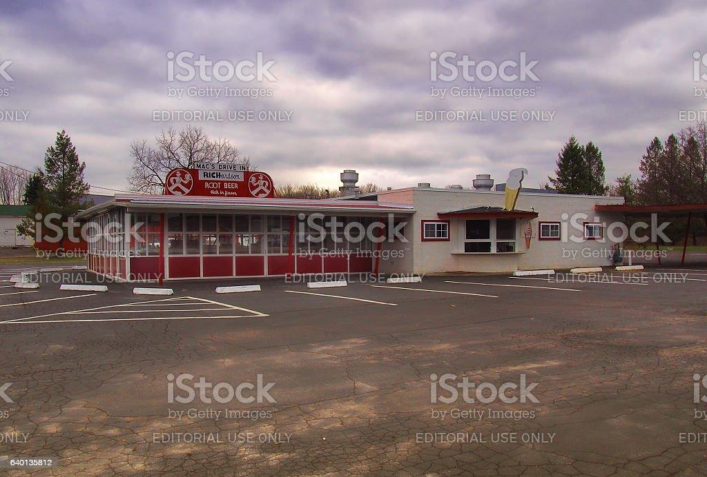 Mac' Drive Inn stock photo