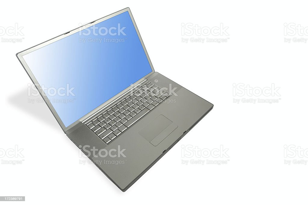 mac laptop royalty-free stock photo