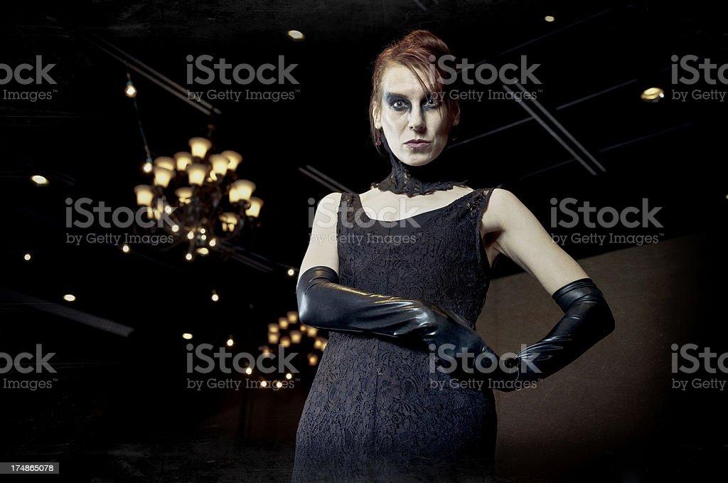Macabre Masquerade stock photo