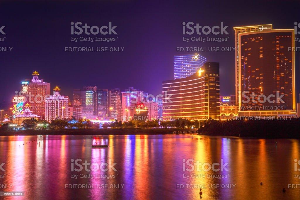 Macao Casino China stock photo