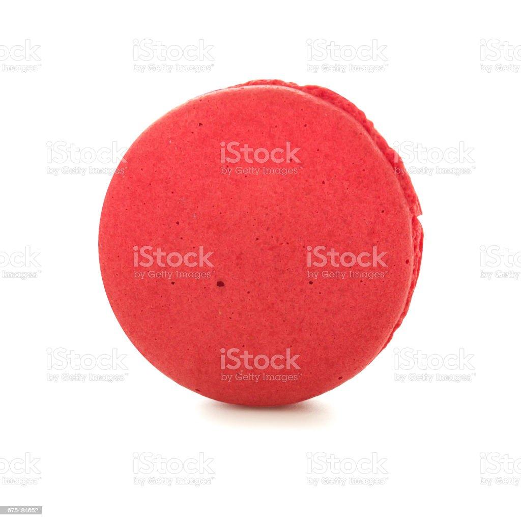 Macaron rasberry flavour biscuit dessert photo libre de droits