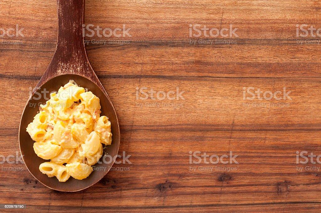 Macarrão e queijo  foto royalty-free