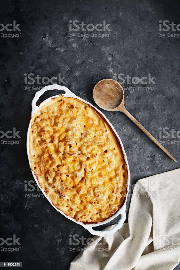 Macaroni and Cheese stock photo
