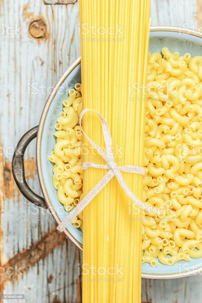 macaroni pasta spaghetti royalty-free stock photo