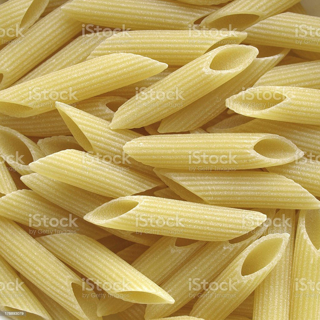 Macaroni Penne Pasta royalty-free stock photo