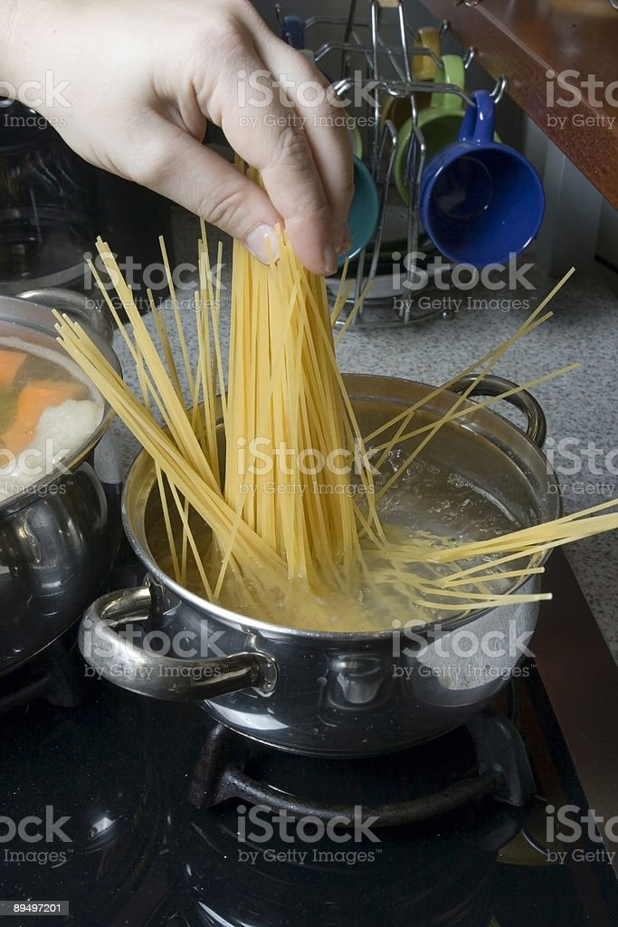 Maccheroni foto stock royalty-free
