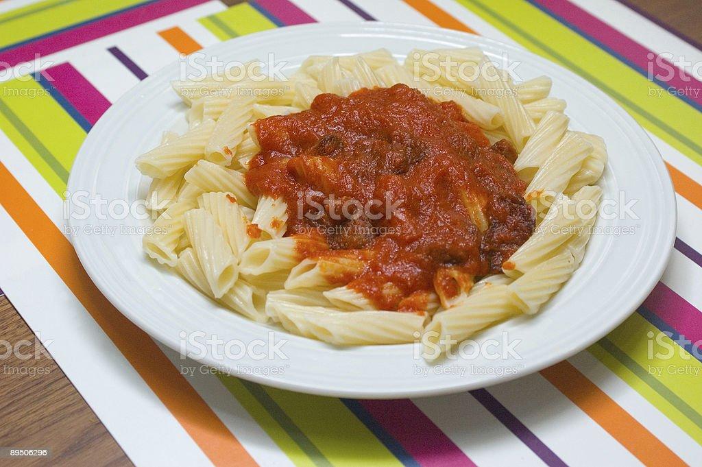 macaroni photo libre de droits
