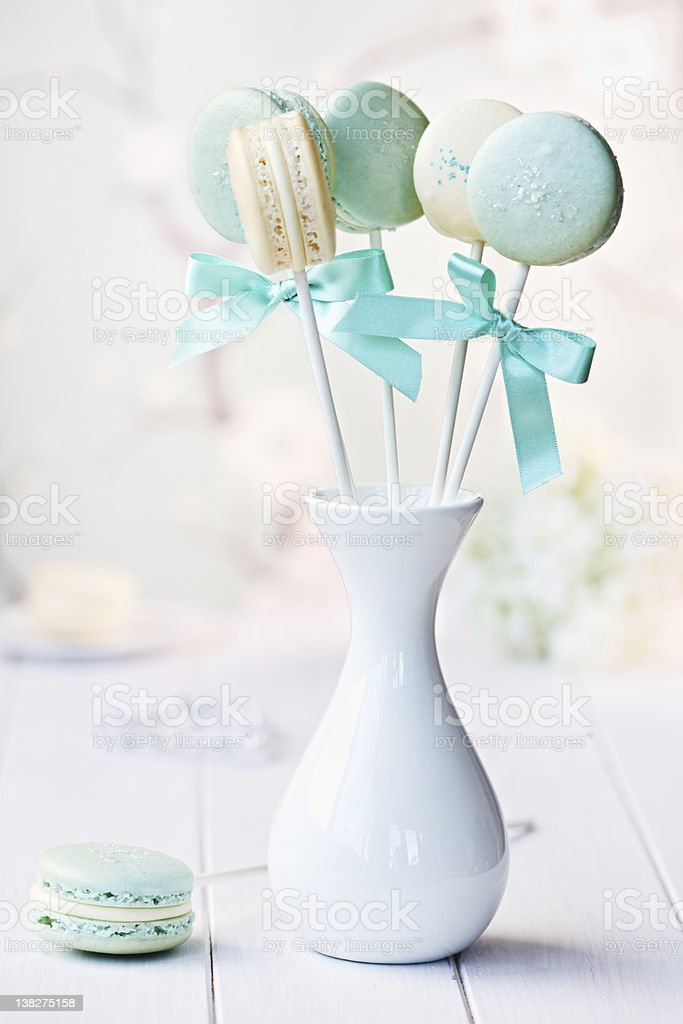 Macarons stock photo