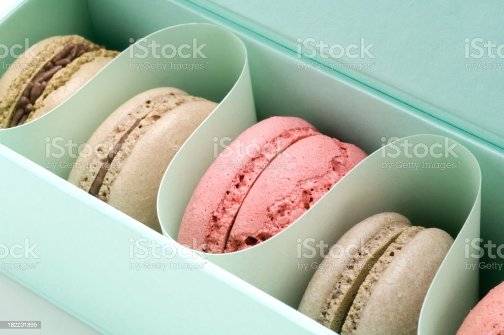 Macaroon French pastry stock photo