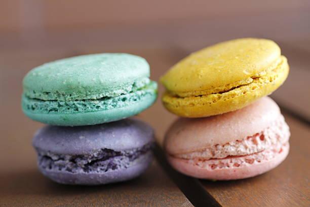 Macaron stock photo
