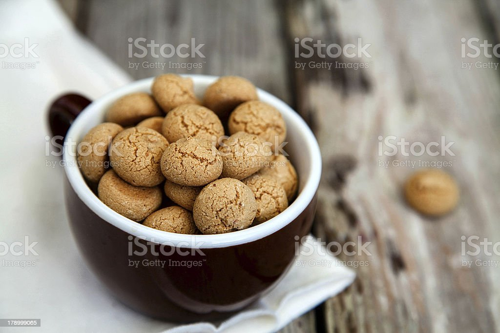 Amaretti stock photo