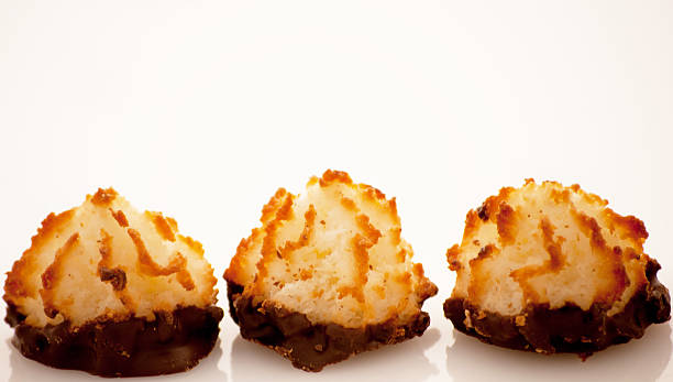 macaroons - passover stock photos and pictures