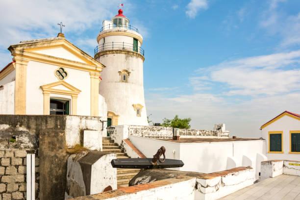 Macau Guia Lighthouse - Macao City Landmark, China – Foto