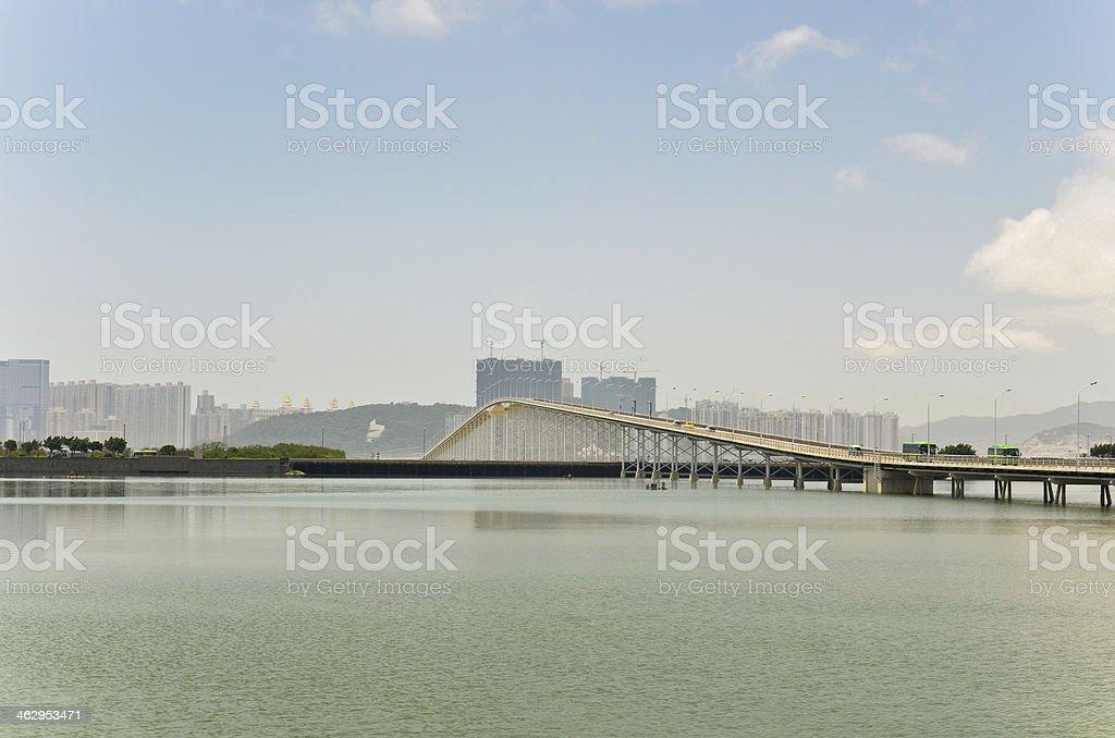 Macau tower royalty-free stock photo