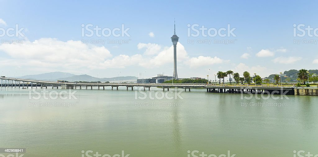 Macau tower royalty-free stock photo
