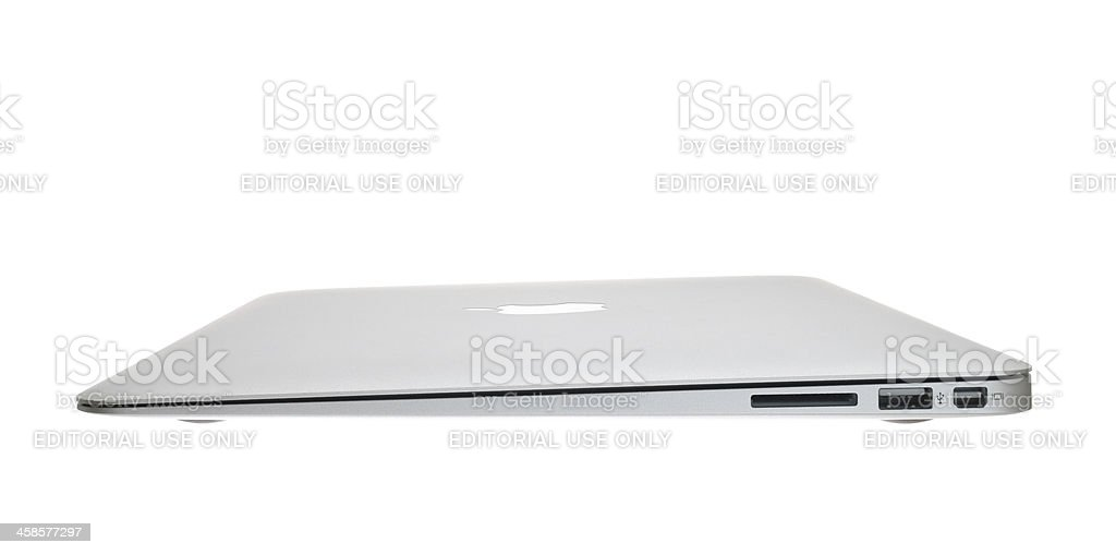 MacBook Air royalty-free stock photo