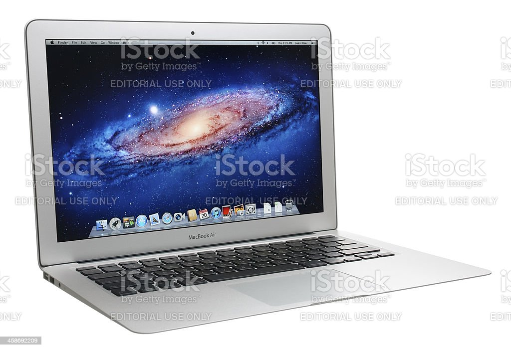 MacBook Air royalty-free stock photo