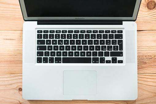 Macbook Pro Laptop on the desk