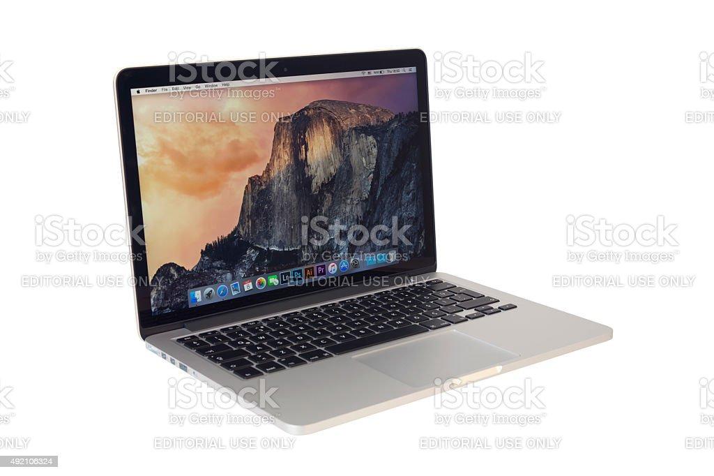 MacBook Pro stock photo