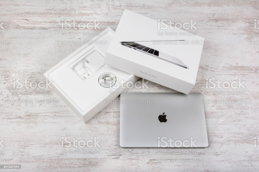 MacBook Pro Retina Display with Touch bar and a Touch ID sensor...