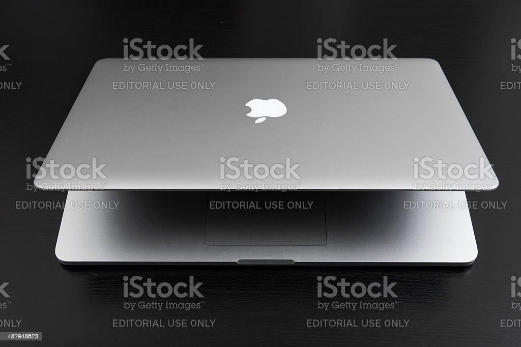 MacBook Pro Retina royalty-free stock photo