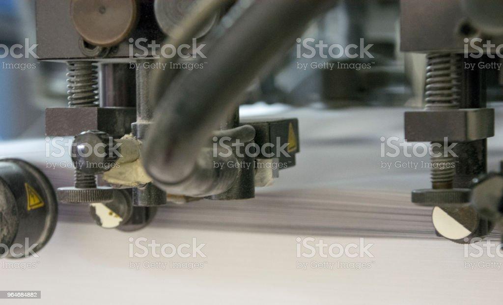 macchina da stampa offset royalty-free stock photo