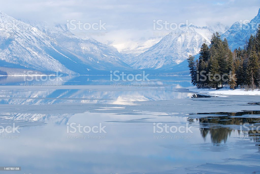 MacDonald Lake royalty-free stock photo