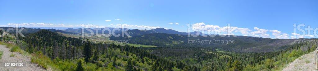 MacDonald Pass Montana stock photo