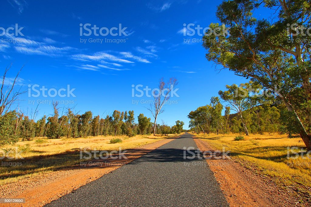 MacDonnell Ranges, Australia stock photo