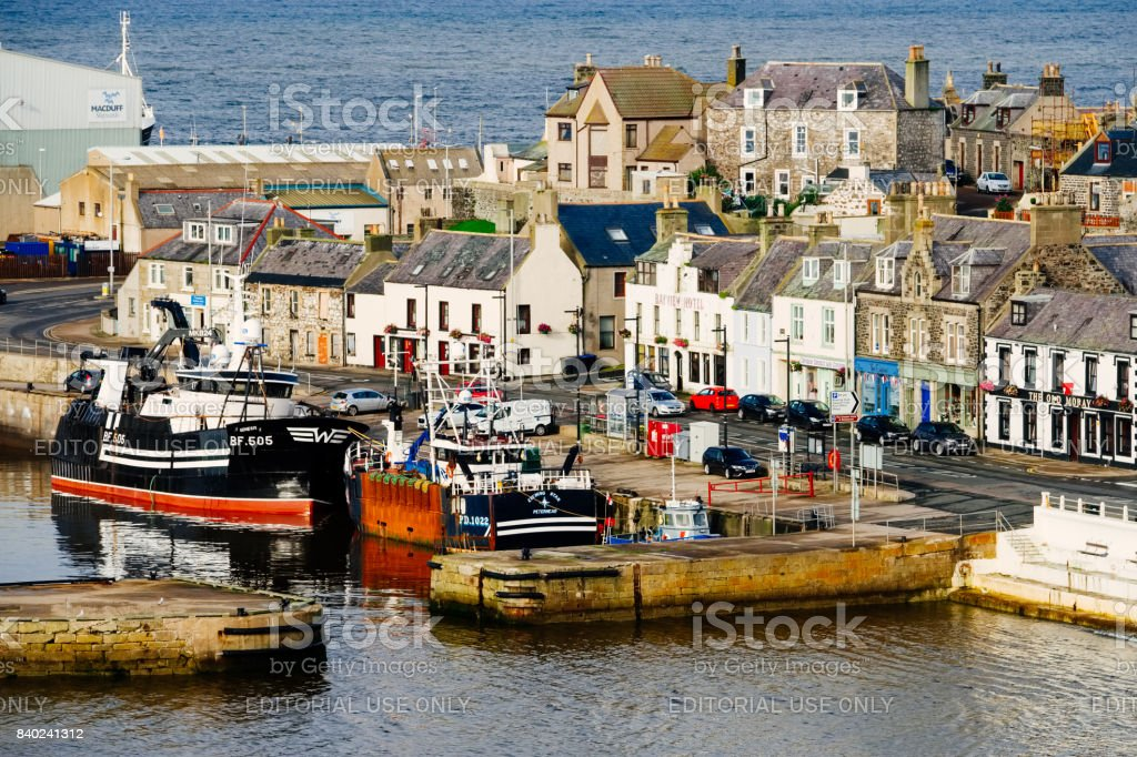 Macduff, Aberdeenshire, Scotland stock photo